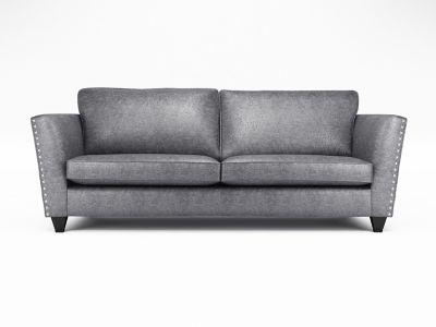 Blaire 4 Seater Standardback Sofa with Studs