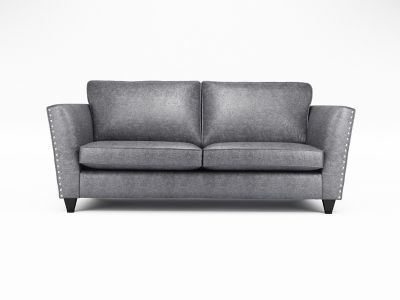 Blaire 3 Seater Standardback Sofa with Studs