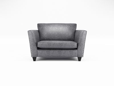 Blaire Loveseat with Studs