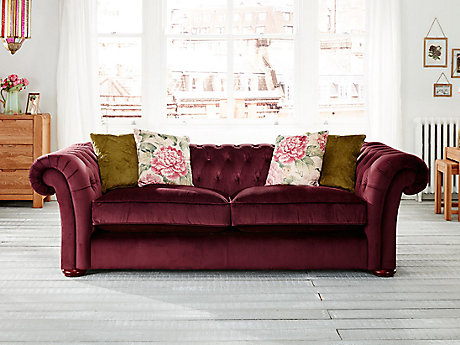 Charlotte 3 Seater Sofa