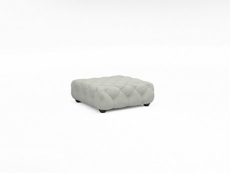 Charlotte Button Footstool