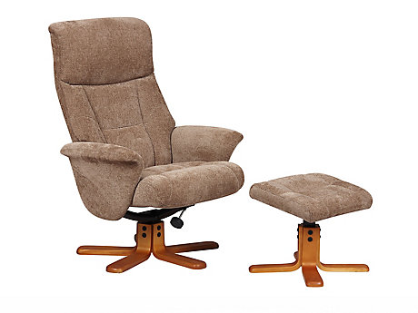 Fenwick Relaxer Chair with Footstool