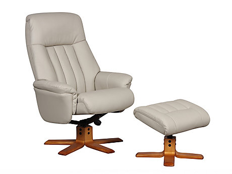 Yardley Relaxer Chair with Footstool