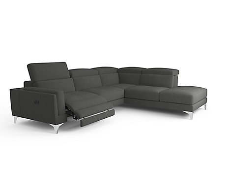 Versano Right Hand Facing Corner with Chaise & Electric Incliner