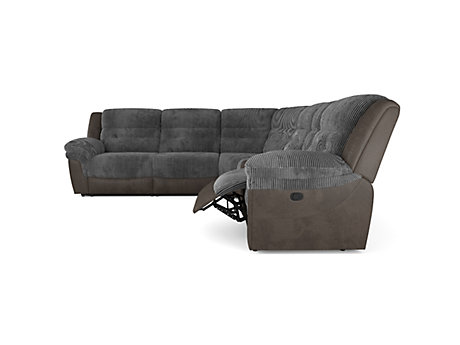 Pegasis Large Corner Sofa with Console Unit