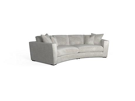 Trinity Small Curved Corner Sofa