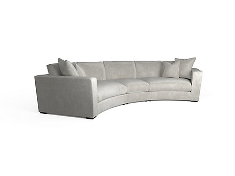 Trinity Curved Corner Sofa