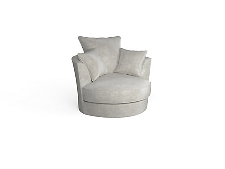 Trinity Swivel Cuddler Chair