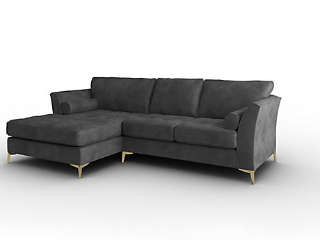 Idol Left Hand Facing Large Sofa with Large Chaise