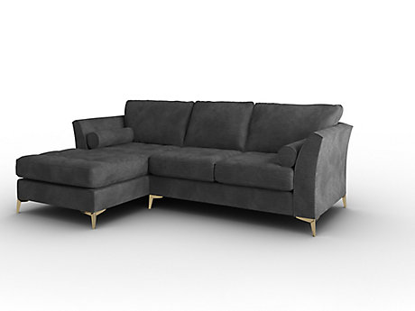 Idol Left Hand Facing Large Sofa with Standard Chaise
