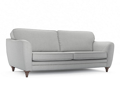 Ava 4 Seater Sofa with Studs