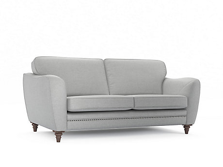Ava 3 Seater Sofa with Studs