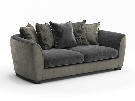 Constance 4 Seater Pillowback Sofa