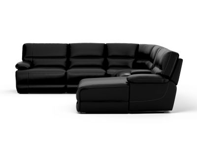 Edmonton Large Right Hand Facing Recliner Corner Sofa with Chaise
