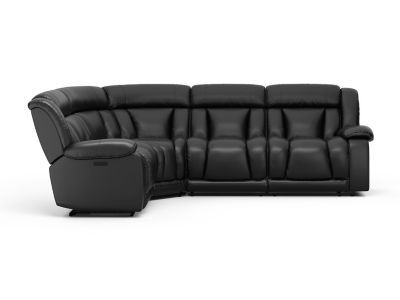Elmhurst Right Hand Facing Electric Recliner Corner Sofa with Power Headrests