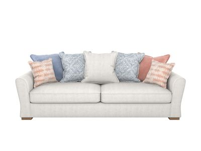 Coral 4 Seater Pillowback Sofa