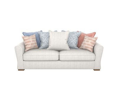 Coral 3 Seater Pillowback Sofa