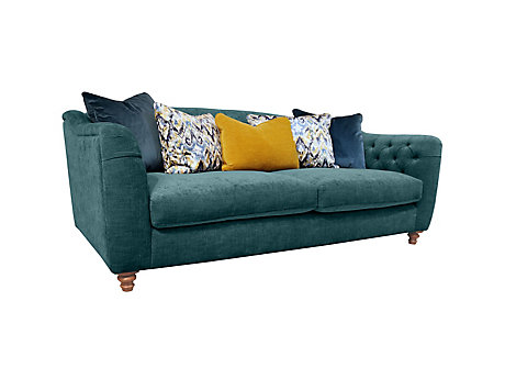 Rosemary 4 Seater Pillowback Sofa