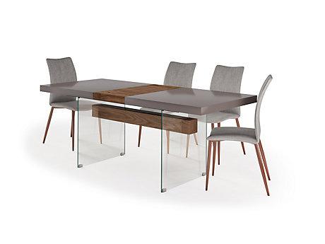 Damara Extending Dining Table & 4 Chairs