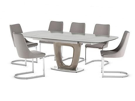 Ivanno Extending Dining Table & 6 Chairs