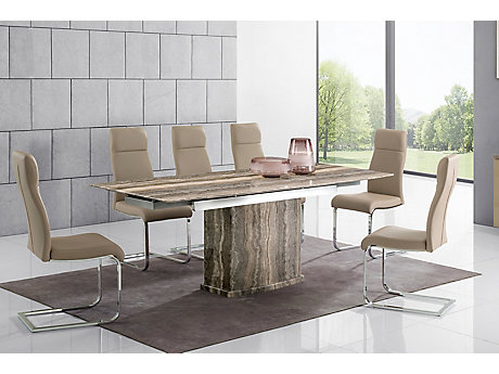 Westcombe Extending Dining Table & 6 Pompeii Chairs