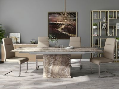 Westcombe Extending Dining Table & 4 Pompeii Chairs