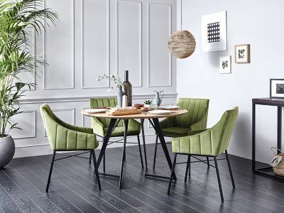 Roxburgh Dining Table & 4 Chairs