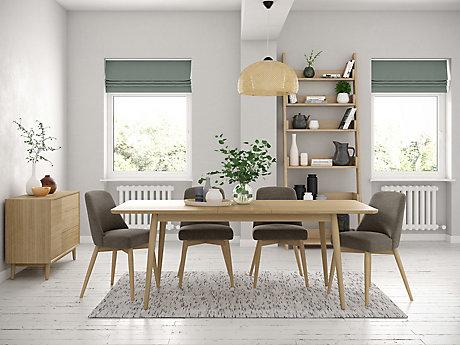 Sanova Extending Dining Table & 4 Chairs