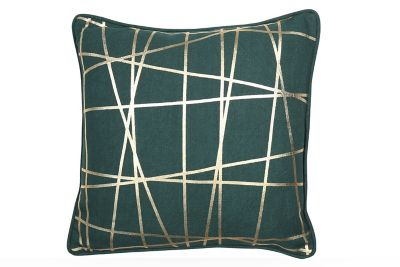 BOLD Lazer Dark Green Cushion