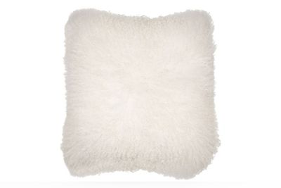 BOLD Mongolian White Cushion