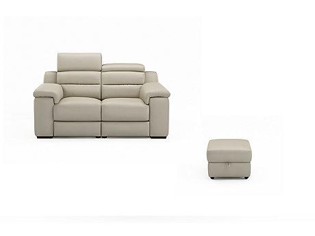 Caprera 2 Seater Sofa & Free Footstool