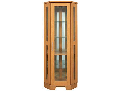 Hampshire Corner Glass Display Unit