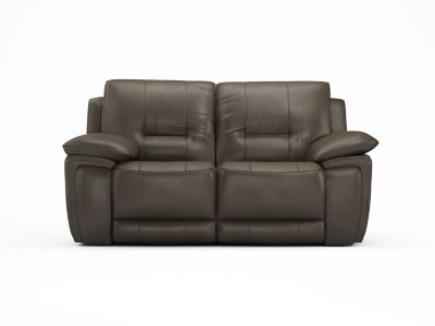 2 Seater Recliner Leather Sofa With 2 Electric Recliner Actions - Harveys Reid Hedgemoor