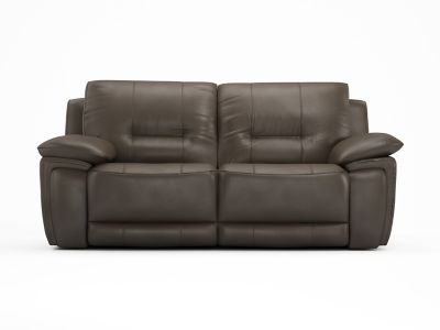 3 Seater Recliner Leather Sofa With 2 Electric Recliner Actions - Harveys Reid Hedgemoor