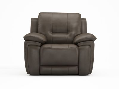 Electric Recliner Leather Chair - Harveys Reid Hedgemoor