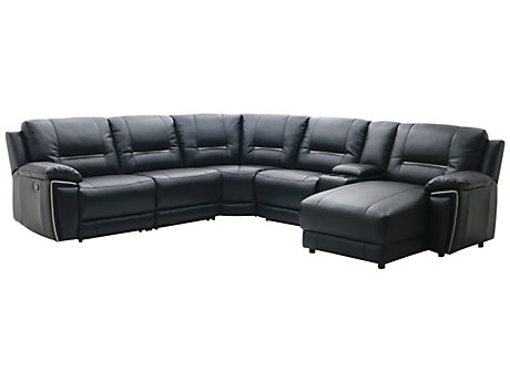 Corner Sofas Leather Fabric Suites Harveys Furniture - Black leather corner sofa