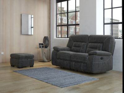 Kinman Storage Footstool