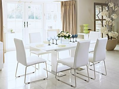 Extending Dining Table U0026 4 Chairs