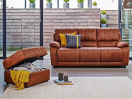 Westchester 3 Seater Recliner Sofa