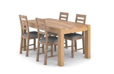 Cargo Portsmore Fixed Dining Table & 4 Victoria Chairs
