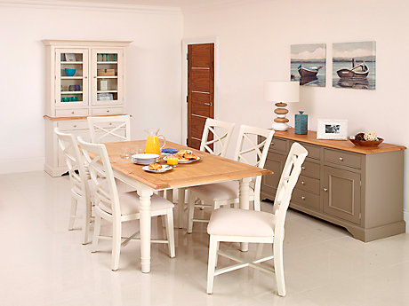Cargo Hartham Extending Dining Table & 4 Chairs