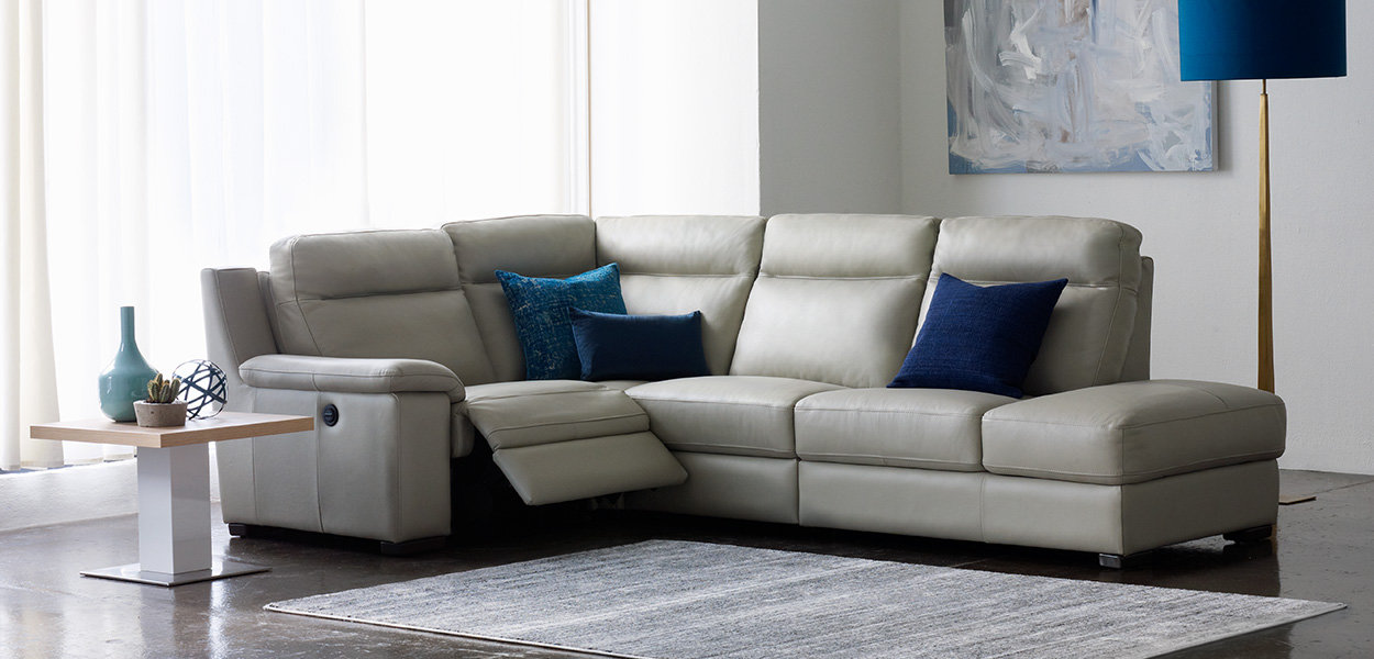 Harveys Leather Sofas Hereo Sofa